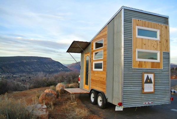 the boulder tiny house 002   The Boulder Tiny House for Sale: $27,350 (SOLD)