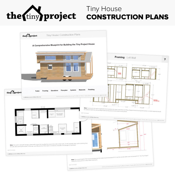 the tiny project tiny house plans and sketchup files