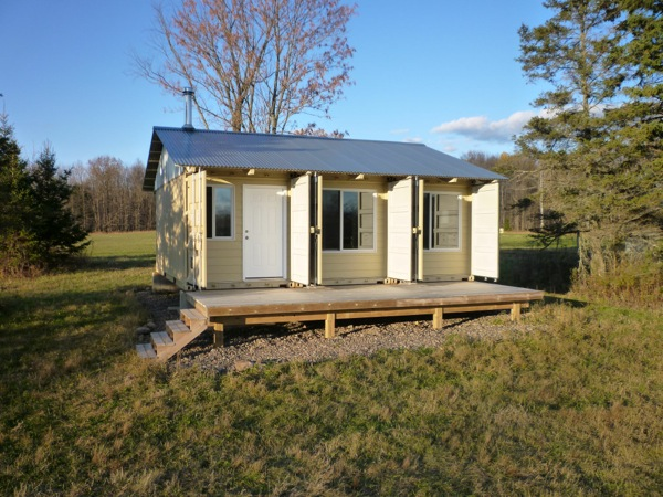 The Tin Can Cabin A Shipping Container Tiny Home