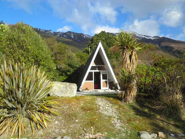 tiny a frame house in the mountains   Top 6 A Frame Tiny Houses