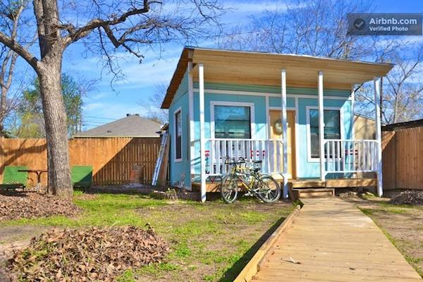 Backyard Tiny House in Austin Texas