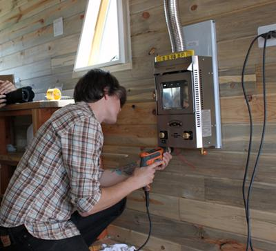 Heating a tiny house overnight leave it on or turn it off Heating options for small homes
