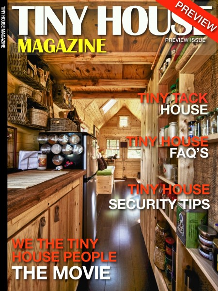 tiny house magazine 1 450x600   The Tiny House Magazine by Kent Griswold
