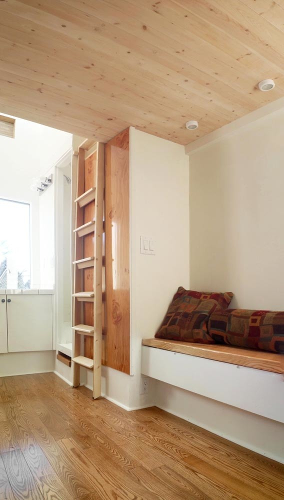 Amazing 100 Sq Ft Tiny House on Wheels Built by Architecture Grads