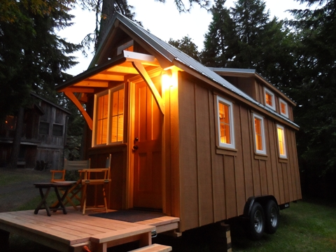 tiny house on wheels by oregon cottage company 02   Ynez Tiny House on Wheels by Oregon Cottage Company
