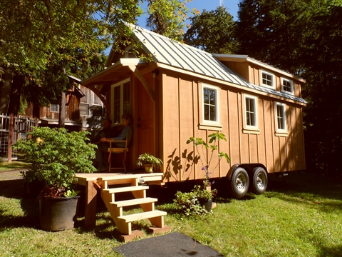 tiny house on wheels by oregon cottage company 071   Ynez Tiny House on Wheels by Oregon Cottage Company
