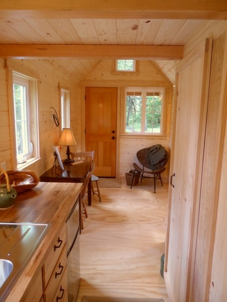 tiny house on wheels by oregon cottage company 12 450x600   Ynez Tiny House on Wheels by Oregon Cottage Company
