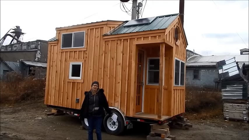 Dormer Loft Cottage By Molecule Tiny Homes: 8x16 Tiny House On Wheels By Jamaica Cottage Shop