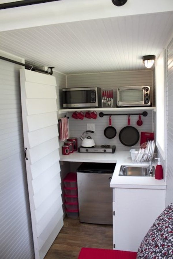 tiny house on wheels kitchen   Tennessee Tiny Homes