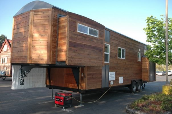 Small Camper With Slide Out >> Tiny House with Slide Outs