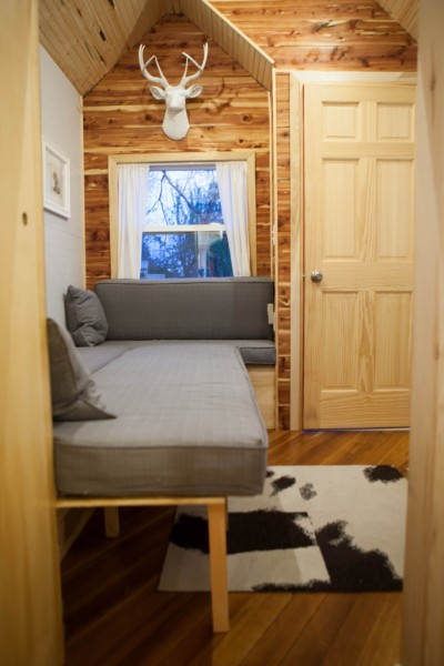 tiny midwest tiny house 077 400x600   Custom Designed & Built Midwest Tiny House