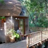 Tiny Mushroom Dome Cabin in Aptos