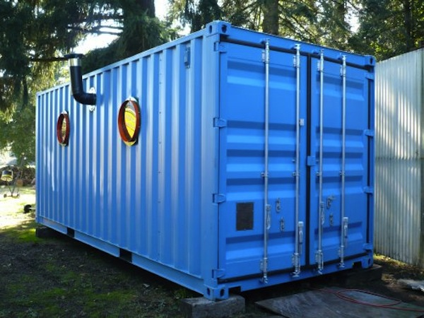 Tiny Secure Container Home by SoftStainless
