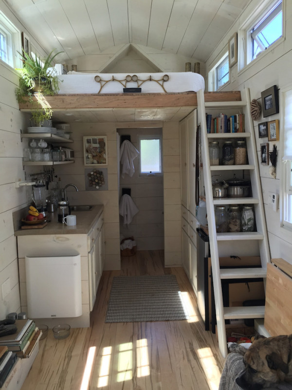Tiny Hall House On Wheels An Adventure In Living Simply