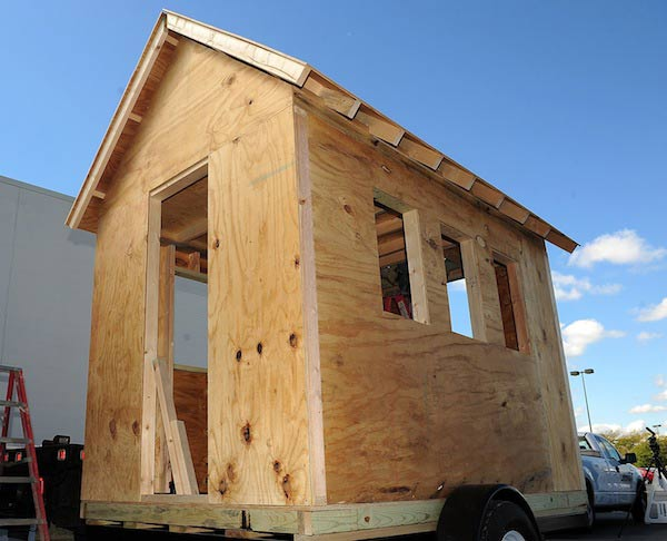 tiny house construction costs and square footage scenarios