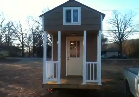 tonita tiny house by slabtown customs   Tonitas Tiny House on a Trailer from Slabtown Customs