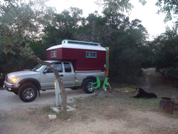 toyota truck bed micro camper 1   Custom Built Truck Bed Micro Camper that Fits Toyota Tacoma