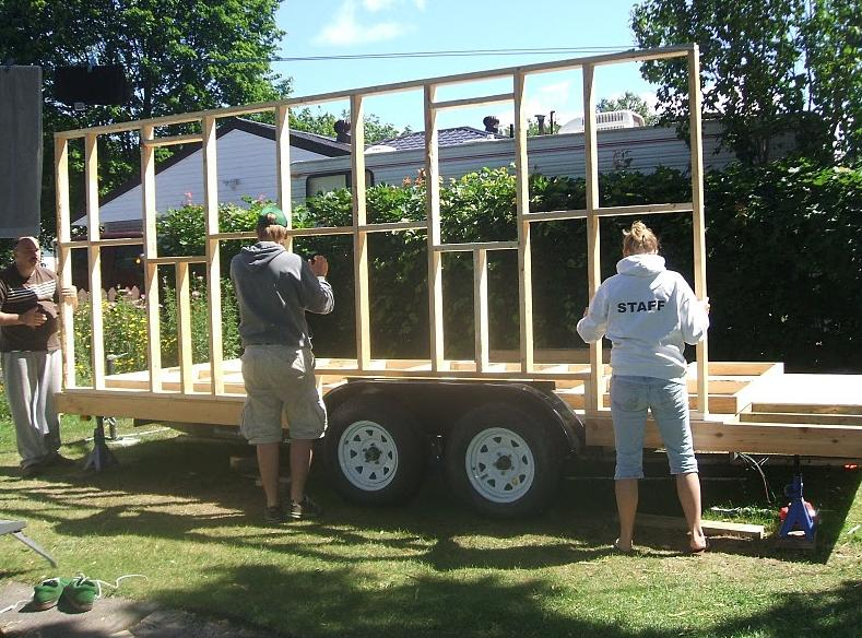 Building a tiny house yourself do you have diy blood for Building a house yourself