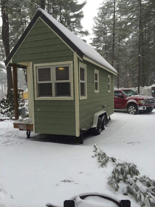 Tumbleweed Fencl Style Tiny House for Sale Would You Buy or Build it