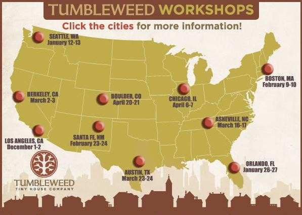 Tumbleweed Tiny House Workshop House Decor Ideas
