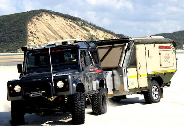 Original Australia Is A Rugged Place  Offering Massive Toy Haulerscumcampers That