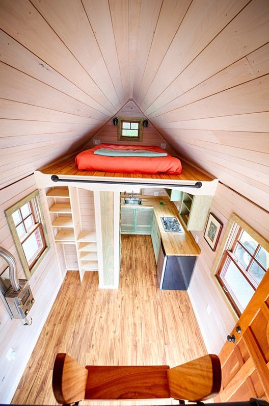 16 Tiny House Interior Design Ideas: Wishbone Tiny Homes On Wheels