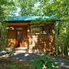 Wood Cliff Tiny Cabin with Private Creek and Tree-top Views