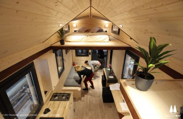 The Tiny House 'Cottage' from WoodyWay