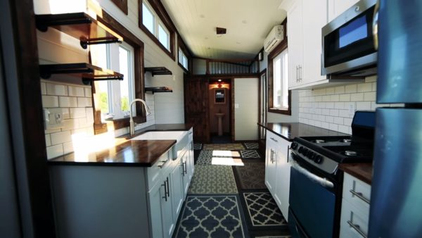 Photos Via Living Big In A Tiny House On YouTube