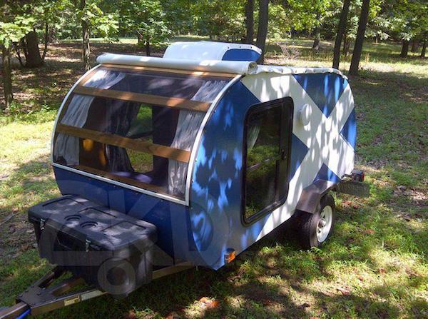 Homemade Teardrop Camper