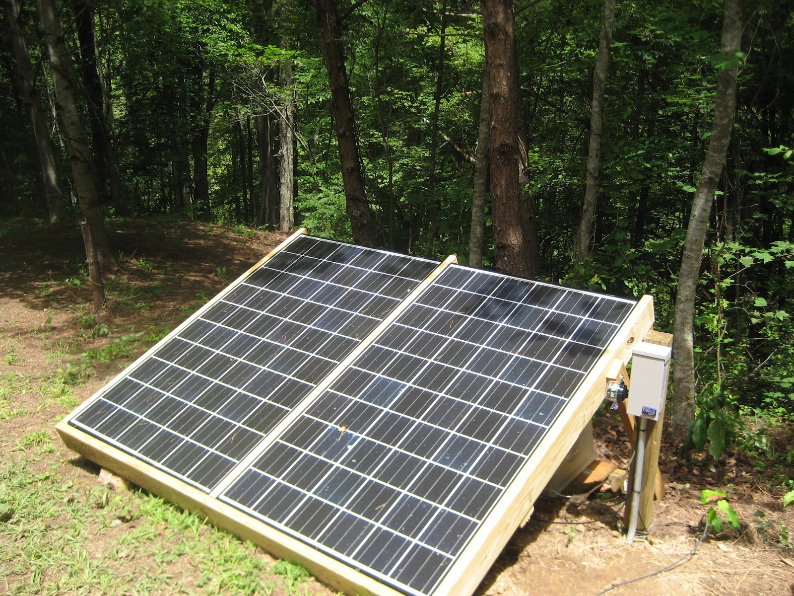 Living Off The Grid Solar Power And The Simple Life