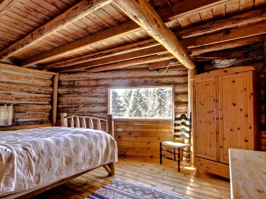 Humble Log Cabin With Magical Views