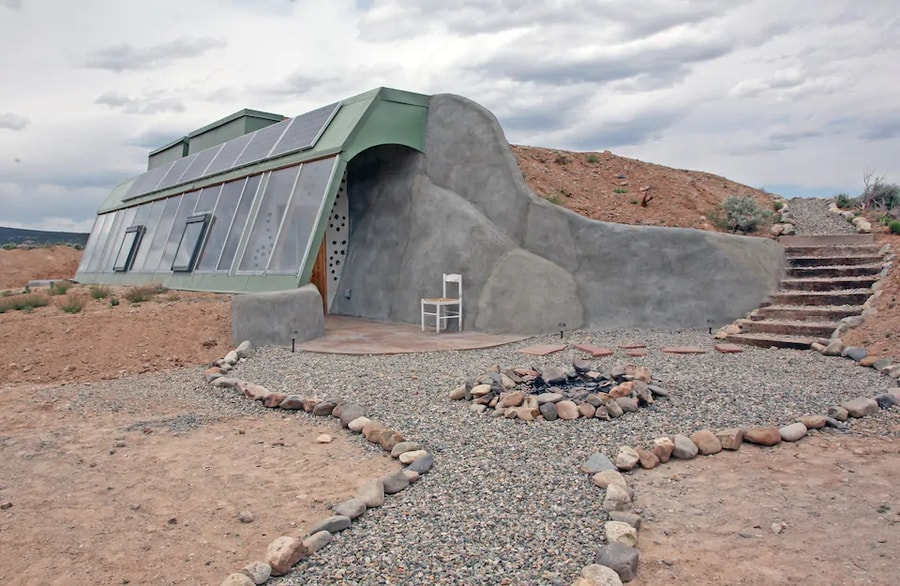 Studio Earthship in Taos, New Mexico