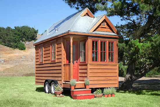102 Square Foot Tiny House on a Trailer -- Weebee