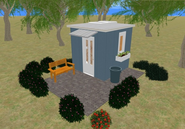 Kevin's 8x8 Tiny House Design