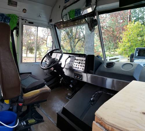 $11k Bluebird School Bus Conversion