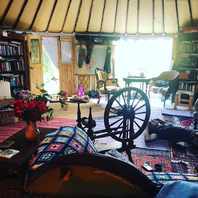 Two Teachers in Their 538 Sq. Ft. Yurt, Australia 7