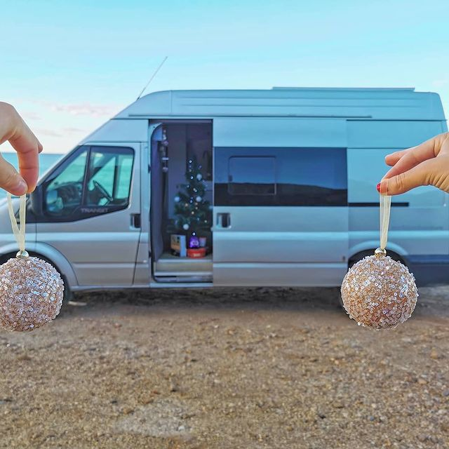 London Couple Travelling Europe in Their Van Conversion 6