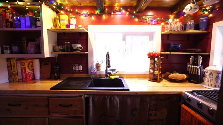 DIY Tiny house on a vermont homestead 13