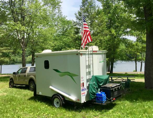 13-Foot Stealth Cargo Trailer Conversion for $5950