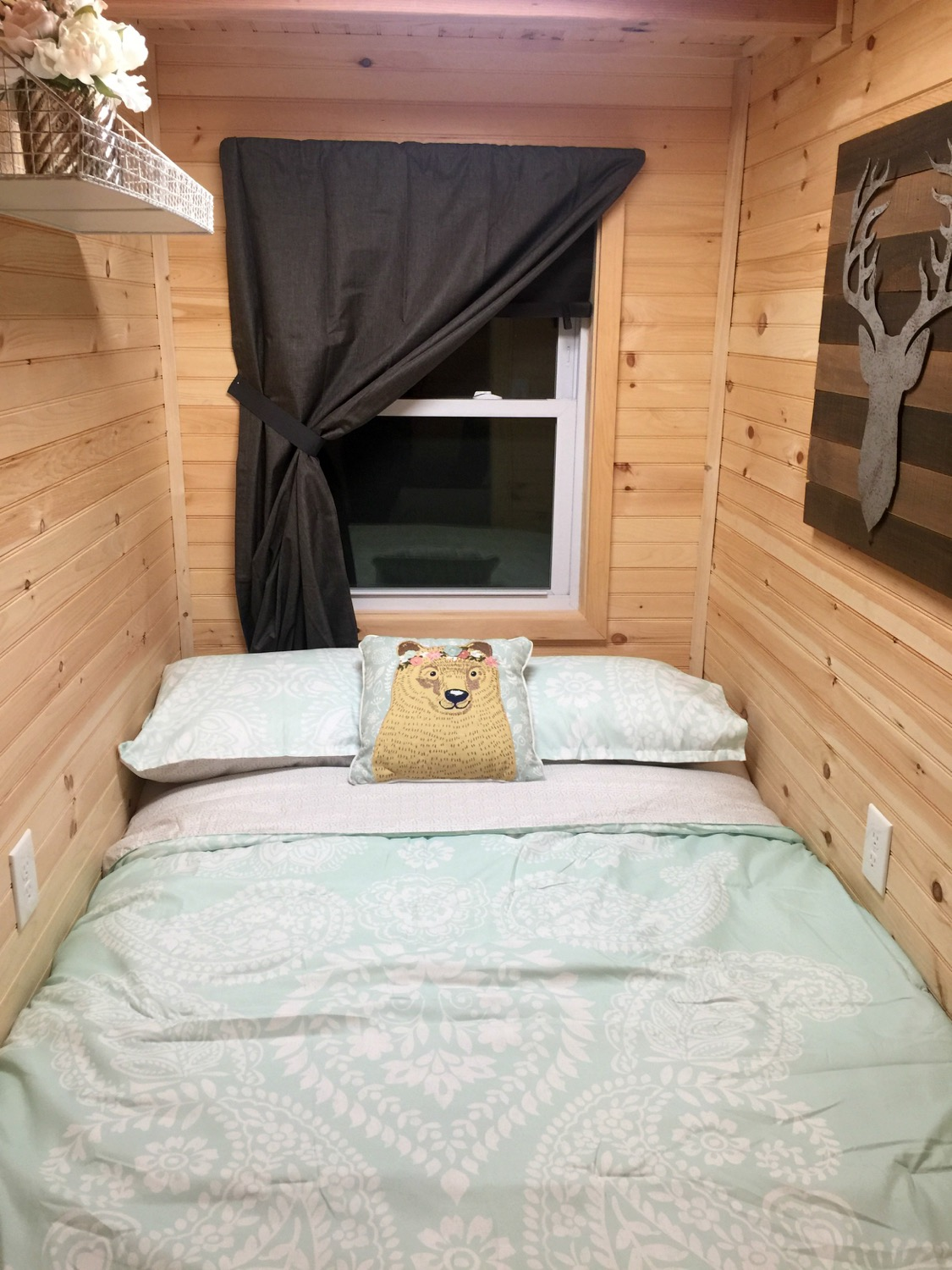 13-Foot Tiny House with a Main Floor Bedroom