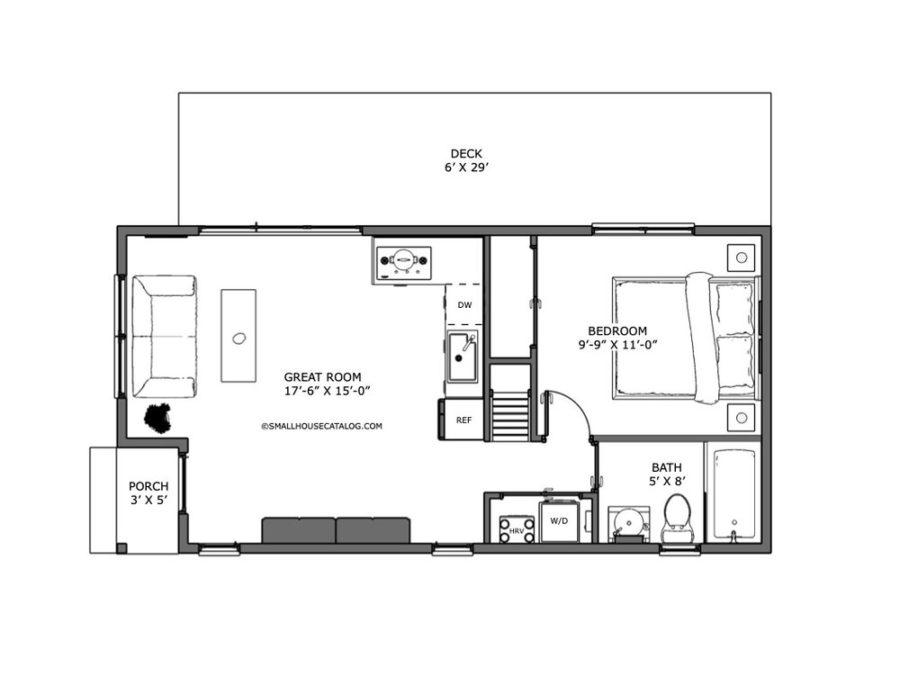 16' X 32' Kyka Cottage 7
