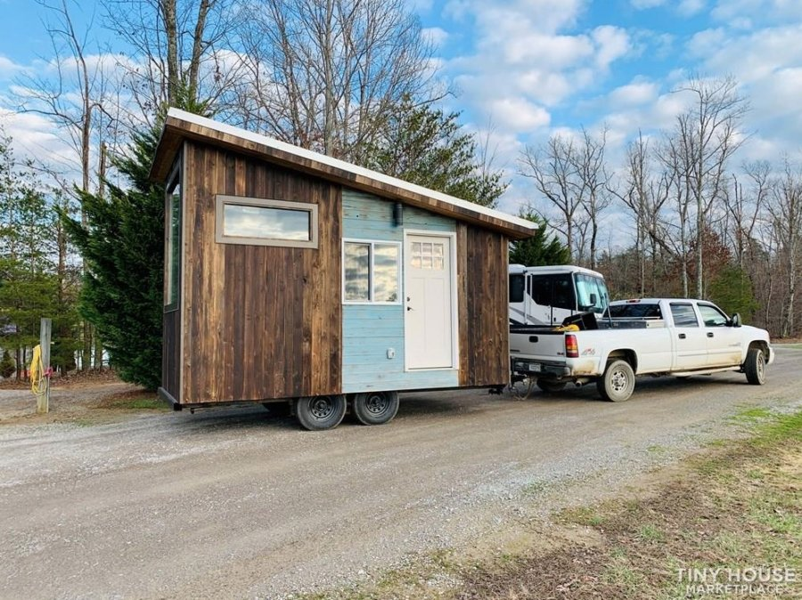 16-ft Tiny House with an Elevator Bed for 39k in Monterey Tennessee via Nehemiah Horst Tiny Home Builders 002