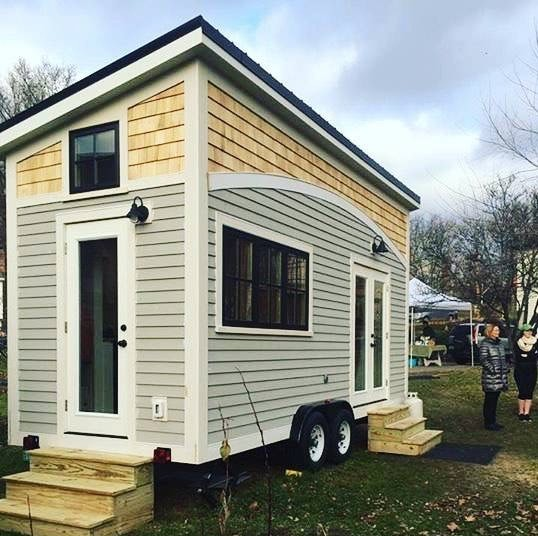 160 Sq Ft Handcrafted Tiny House on Wheels For Sale in Vermont 001