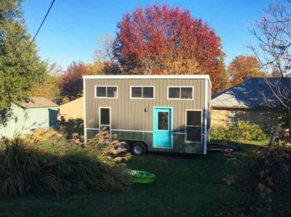 160 Sq Ft Tiny House on Wheels For Sale 001