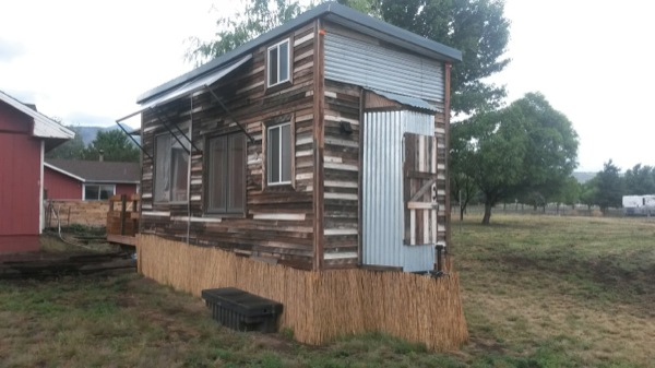 Couple Build 176 Sq Ft Sustainable Tiny House