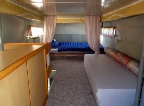 1960 Vintage Double Decker RV Motorhome 013