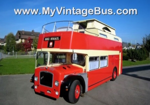 1960 Vintage Double Decker RV Motorhome 019