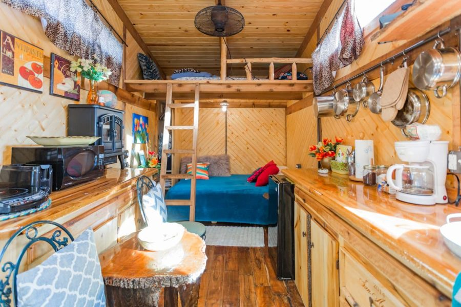 """""""Hillbilly Chic"""" Limerence Tiny House (180 sq. ft.)"""
