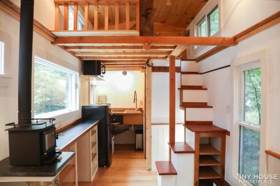 20-ft Rustic Tiny House Ralf Platte via Tiny House Marketplace 002
